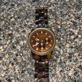 Michael Kors Accessories   Michael Kors Brown Tortoise Watch   Color: Brown/Tan   Size: Os