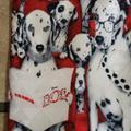 Disney Accessories   Disney 101 Dalmatians Tie.   Color: Red/White   Size: Os