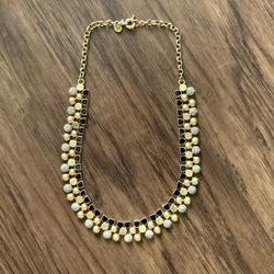 Madewell Jewelry   Madewell Beautiful Necklace   Color: Black/Gold   Size: 18