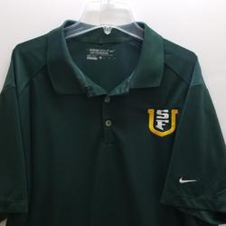 Nike Shirts | Nike University Of San Francisco Men'S Polo Shirt | Color: Green | Size: Xl