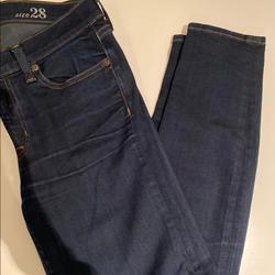 J. Crew Jeans   Jcrew Toothpick Skinny Blue Denim Jeans   Color: Blue   Size: 28