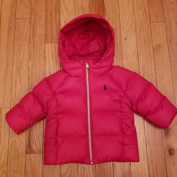 Ralph Lauren Jackets & Coats | Pink Ralph Lauren Baby Girl Puffer Coat | Color: Pink | Size: 9mb
