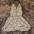 Free People Dresses | Sleek Sexy Open-Back Dress | Color: Black/White | Size: Xs