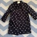 Kate Spade Jackets & Coats | Kate Spade Polka Dot Bow Jacket | Color: Black/Cream | Size: M
