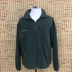 Columbia Jackets & Coats   Columbia Mens Polar Fleece Jacket Xl Full Zip   Color: Green   Size: Xl