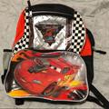 Disney Accessories   Disney Pixar Cars Backpack   Color: Black/Red   Size: 16 Inch X 12 Inch X 4 Inch