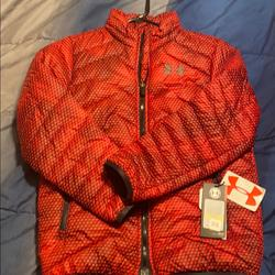 Under Armour Jackets & Coats | Brand New Under Armor Jacket | Color: Black/Red | Size: Youth Medium