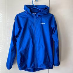 Adidas Jackets & Coats   Adidas Boys Windbreaker Full-Zip Jacket L 1416   Color: Blue   Size: 12b