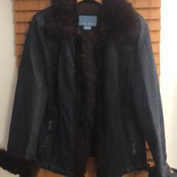 Nine West Jackets & Coats | Nice Jean Jacket | Color: Blue | Size: L
