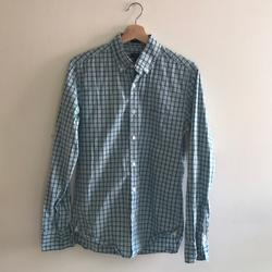 J. Crew Shirts | J Crew Button-Up Teal Green Plaid | Color: Blue/Green | Size: S