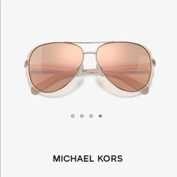 Michael Kors Accessories | Michael Kors 5004 Chelsea Polarized Sunglasses | Color: Pink/Tan | Size: Os