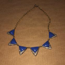 J. Crew Jewelry   J. Crew Jcrew Blue Necklace   Color: Blue   Size: Os