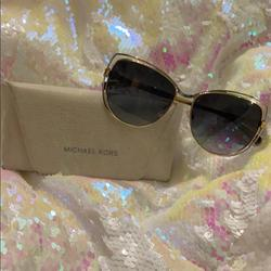 Michael Kors Accessories | Micheal Kors Sunglasses | Color: Gold/Silver | Size: 58 15 140