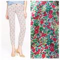 J. Crew Jeans   Jcrew Toothpick Ankle Pants   Color: Green/Pink   Size: 28