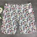 Adidas Shorts | Nwt Adidas Floral Bermuda Shorts | Color: Pink/White | Size: L