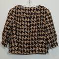 Michael Kors Jackets & Coats | Michael Kors Houndstooth Womes Crop Jacket | Color: Brown/Tan | Size: M