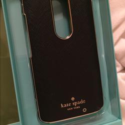Kate Spade Accessories | Motorola Droid Turbo2phone Case | Color: Black | Size: Os