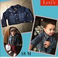 Levi's Jackets & Coats   Levis Toddler Denim Jacket   Color: Blue   Size: 18mb