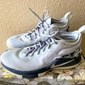 Nike Shoes | Nike Lebron Witness Ii Mens Size 7 Gray Shoes | Color: Gray/White | Size: 7