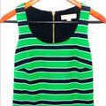 Michael Kors Dresses | Nwot Michael Kors Summer Midi Summer Dress | Color: Black/Green | Size: S