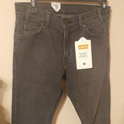 Levi's Jeans | Levi'S Levis 505 Cropped Gray Wash Jeans Tag 26 | Color: Gray | Size: 28