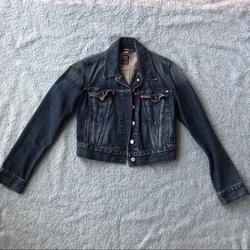 Levi's Jackets & Coats | Levis Denim Jean Jacket | Color: Blue | Size: Xs