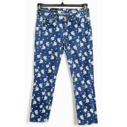 J. Crew Jeans | J Crew Ladies Matchstick Floral Denim Jeans | Color: Blue/White | Size: 25