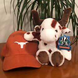 Nike Accessories   Nike University Of Texas Fitted Youth Hat & Plush   Color: Orange   Size: Fitted Hat 8-20