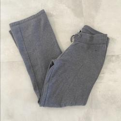 Nike Pants & Jumpsuits | Nike Wide Leg Bootcut Drawstring Sweats | Color: Gray | Size: S