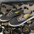 Columbia Shoes | New! Columbia Vulc N Vent Canvas Lace Shoes | Color: Gray | Size: 10.5