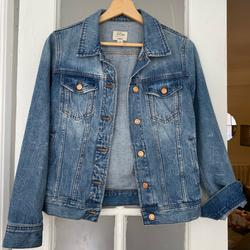 J. Crew Jackets & Coats | Jcrew Classic Denim Jacket | Color: Blue | Size: Xs