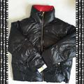 Michael Kors Jackets & Coats | Michael Kors Womens Quilted Puffer Jacket | Color: Black/Red | Size: Xl