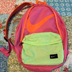 Nike Accessories | Girls Nike Backpack | Color: Green/Pink | Size: Osg