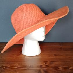 J. Crew Accessories | J.Crew Summer Hat | Color: Orange | Size: Os
