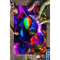 SR- Puzzles for Adults 1000 Piece - Boston Terrier Face Watercolor Art Jigsaw Puzzles- Puzzles for Adults- Fun Gifts (Multicolorfull, 1000 Pieces/Finished Size:30' x 20'/75 x 50 cm)