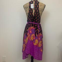 Free People Dresses   Nwt Free People Flowy Dress Swimsuit Coverup   Color: Black/Pink   Size: S