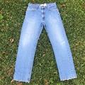 Levi's Jeans   Levis 505 Red Tab Zip Fly Blue Jean   Color: Blue   Size: 34