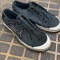 Coach Shoes | Coach Keeley Denim No Lace Fashion Tennis Shoe | Color: Black | Size: 5