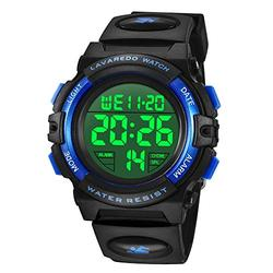 Watches,Kids Watches, Boys Teenagers Digital Outdoors Sport Watch Multifunction Waterproof Electronic Digital Watch with LED Light Alarm and Calendar Date for Kids Children Wrist Watches