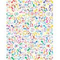 """500 Pages College-Ruled Jumbo-Sized Notebook: Giant Thick Notebook College Ruled Lines with 500 Pages (250 Sheets) Large Size 8.5"""" x 11"""", Cute Floral ... Artists, Writers, Students and Teachers"""