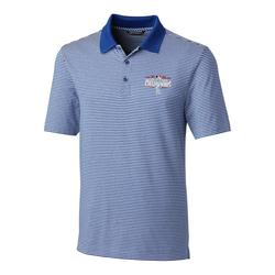 """""""Cutter & Buck Los Angeles Dodgers Royal 2020 World Series Champions Big Tall Forge Polo"""""""