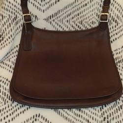 Coach Bags   Coach Legacy Slim Hippie Flap Bag   Color: Brown/Silver   Size: Os