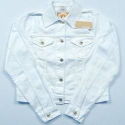 Michael Kors Jackets & Coats | Mk Michael Kors Denim Jean Jacket White L | Color: White | Size: L