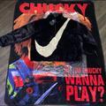 Nike Jackets & Coats | Nike Faux Fur Jacket | Color: Black/White | Size: Xl