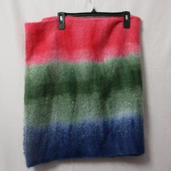 American Eagle Outfitters Accessories | New American Eagle Ombre Stripe Multicolor Scarf | Color: Green/Pink | Size: Os