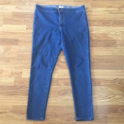 Levi's Jeans   Levis Denim Jeggings Jeans Sz 32   Color: Blue   Size: 32