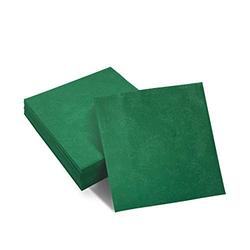 AIRE Paper Napkins 100 Pack 16X16 Inches Green Dinner Napkins Soft & Comfortable Decorative Napkins - Durable Linen Feel Napkins - Perfect Table Napkins / Green Napkins for Family Dinners,Parties