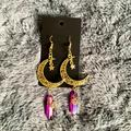 Urban Outfitters Jewelry   Handmade Earrings!!   Color: Gold/Pink   Size: Os