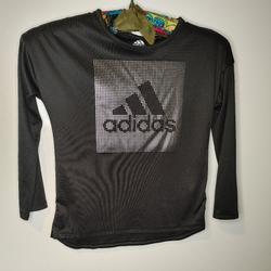 Adidas Shirts & Tops   Adidas Youth Top   Color: Black/Silver   Size: 6g