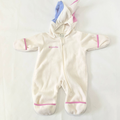 Columbia One Pieces | Columbia Baby Snow Suit Fleece Unicorn 0-6 Months | Color: Cream/Pink | Size: 0-3mb